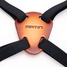 Matin Nylon/Leather BINOCULAR HARNESS Strap Canon Nikon Leica Camera Rangefinder