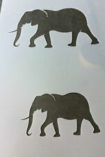 Elephant Animal Africa A4 Mylar Reusable Stencil Airbrush Painting Art Craft