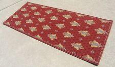 "Vintage Stark Rug Co Wool Classic Design Fleur-De-Lis Bound Runner 29"" x 70"""