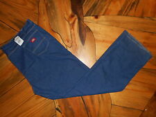 NEW MEN'S Dickies Blue Denim Jeans 58 UL x 36 34 32 30 28 26 unhemmed unfinished
