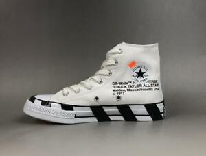 OFF WHITE x Converse Chuck Taylor All Star 70 Men's Size 9.5 100% AUTHENTIC