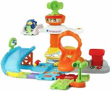 VTech Go! Go! Smart Wheels Take Flight Airport [Children Learning Toy Ages 1-5]
