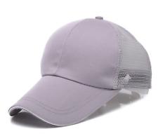 New Men Women Trucker Mesh Hat Snapback Unisex Blank Adjustable Baseball Cap