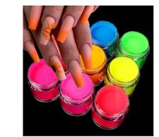 neon acrylic powder bundle nail powder bright 💖FREE 🧡WORLDWIDE SHIPPING💛