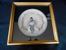 FRAMED Buckley Moss Ltd Collector Plate MARY with the LAMBS  NEW w/Certificate