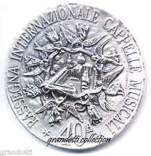 GIUBILEO 2000 LORETO 40 RASSEGNA CAPPELLE MUSICALI RARA MEDAGLIA
