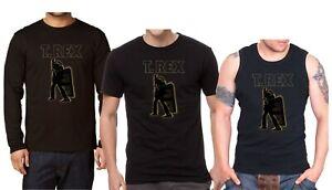 T REX ELECTRIC WARRIOR Herren T-shirt, T REX Langarm Shirt,Tank Top