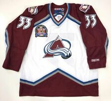 PATRICK ROY 1996 STANLEY CUP CCM NHL WHITE COLORADO AVALANCHE JERSEY XL
