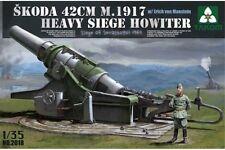 Takom TAKO2018 1/35 Skoda 42cm M1917 Heavy Siege Howitzer