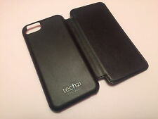 Tech 21 D30 impatto duro Snap FLIP Wallet CUSTODIA LIBRO COVER iPhone 5 5 S 5 C NERO SE