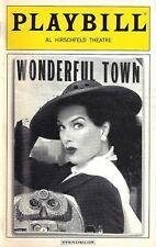 "Brooke Shields ""WONDERFUL TOWN"" Jennifer Hope Wills / Bernstein 2005 Playbill"