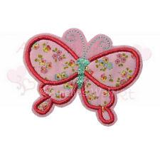 Schmetterling Applikation Aufbügler Aufnäher zum aufbügeln stickapplikation