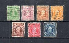 NEW ZEALAND. 1909-1912 SCOTT# 130//138.  KING EDWARD VII.