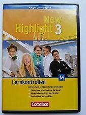New Highlight Bayern Hauptschule M-Zweig Bd. 3: 7. J... | Software | Zustand gut