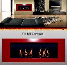 Gel y Etanol Chimenea Caminetti Cheminee  Fireplace Modelo Tornado Rojo