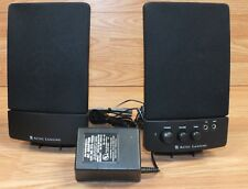 Altec Lansing (BX1120) Black Wired Computer Speakers W/ Compatible Power Supply