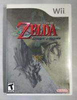 Legend of Zelda Twilight Princess Original Nintendo Wii game 100% Authentic