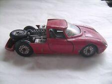 Voiture miniature ancienne Ferrari de marque Mercury en métal