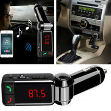 Wireless Bluetooth Stereo MP3 Player FM Transmitter Dual USB Auto Kit Charger