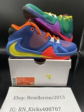 Nike Zoom Freak 1 1/2 Gs What The Cu1486-800 Total Orange Dynamic Yellow Sz 5.5Y