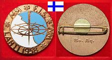 WINTERSPORT SKI NORDISCH ABZEICHEN BADGE FIS WM WC WORLDCHAMPIONSHIP LAHTI 1958