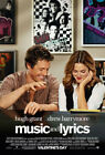 Внешний вид - Music and Lyrics (2007) Movie Poster, Original, DS, Unused, NM, Rolled