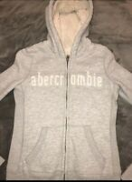 Abercrombie Kids Hooded Faux Fur Lined Jacket Size Large