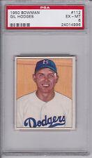 1950 Bowman Baseball # 112 Gil Hodges PSA 6