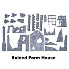 Warlord Games, Ruined Farm House, Bolt Action, Black Powder, Scenery.