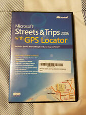 Microsoft Streets and Trips 2006 Without GPS Locator Old Version