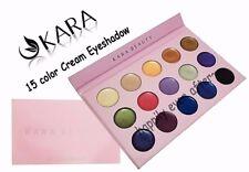 KARA 15 Color Cream Eye Shadow Palette - Palette #ES19 BRAND NEW, USA SELLER!