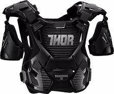 Thor Adult Guardian Deflector Body Armour MD/LG Black/Silver Quad ATV MX