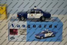 Vanguards Ford Consul Glasgow Police VA05507 Blue / White 1:43 Scale