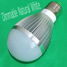 15W LED Light Bulb Lamp E27 E26 Base Dimmable Natural White Energy Saving Light