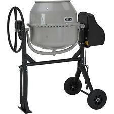 Klutch Portable Electric Cement Mixer 425 Cu Ft Drum