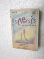 GENESIS  WE CAN'T DANCE  CLAMSHELL 1994 RARE orig CASSETTE TAPE INDIA indian