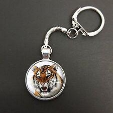 Tigre pendentif sur un serpent porte-clés idéal anniversaire cadeau N33