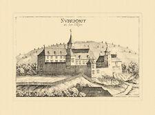 Nußdorf a. d. Traisen Mostviertel Vischer Österreich Burgen und Schlösser 614