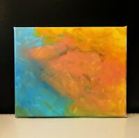 modern abstract paintings on canvas, original painting, 8''x10''