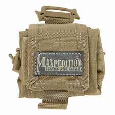 Maxpedition Mini Rollypoly Folding Dump Pouch Khaki 0207K 207k