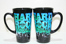 ONE Hard Rock Cafe Hawaii Honolulu Waikiki COLLAGE City Scape Ceramic Coffee Mug