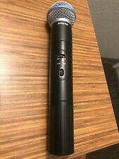 SHURE Beta 58A Wireless Handheld Microphone Transmitter ++++++++++++++++++++++++