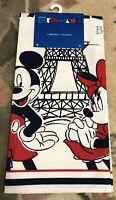 1 TORCHON / TEA TOWEL PARIS 7 Disneyland Paris