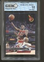 1993-94 Michael Jordan Ultra #30 Gem Mint 10 Chicago Bulls MVP HOF