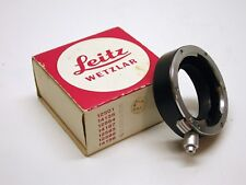 LEICA LEITZ  14158 TWO PART RING..25MM EXTENSION..BOX..MINTY