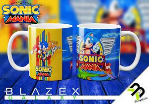Game: Sonic Mania - The Hedgehog - 11oz Mug white - Gift Box Gaming