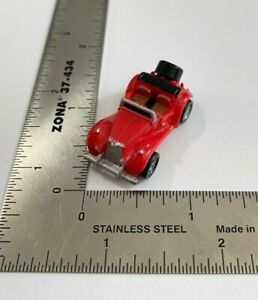 Micro Machines 1986 Galoob '36 Red MG T-Type Roadster Car