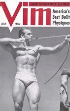 Vim Vol.1 No.3 July 1954, Vintage Male Beefcake Magazine