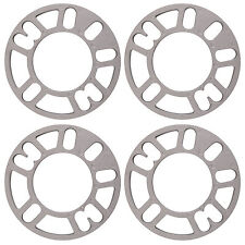 4pcs 10mm Alloy Wheel Spacers Shims Universal Car Spacer 4 and 5 Stud Fit