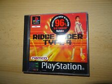 R4: Ridge Racer Type 4 Sony PlayStation 1 PS1 PAL VERSION  mint collectors